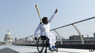 Paralympian Ade Adepitan