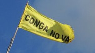 Conga no va flag
