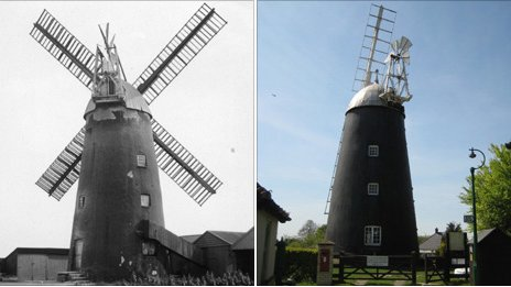 Burwell windmill