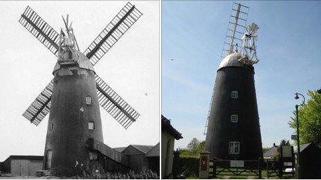 Burwell windmill