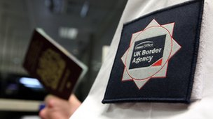 UK Border Agency employee