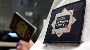 UK Border Agency employee
