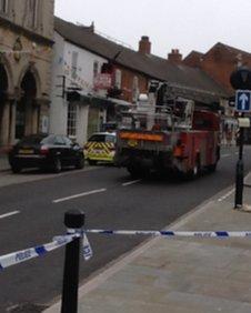 Police in Grantham
