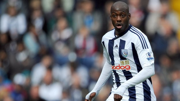 West Bromwich Albion and DR Congo midfielder Youssouf Mulumbu