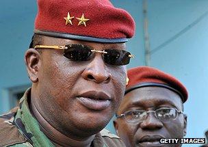 Guinea's Captain Konate