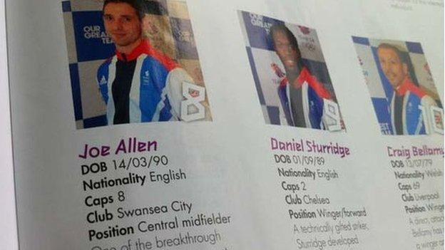 Team GB programme
