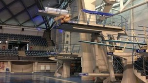 Chris Colwill, USA diving squad