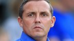 Luton Town manager Paul Buckle