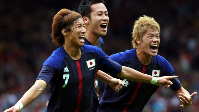 Spain 0-1 Japan