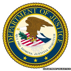 Logo of the US Justice Department