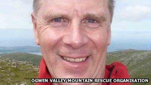 John Hulse, team leader, Ogwen Valley Mountain Rescue Organisation