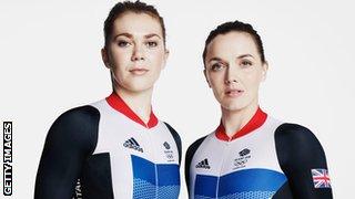 Jess Varnish & Victoria Pendleton