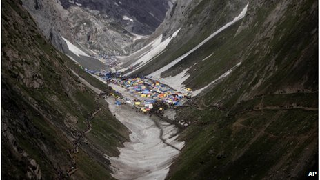 Hindus revere Amarnath as the abode of the god Shiva