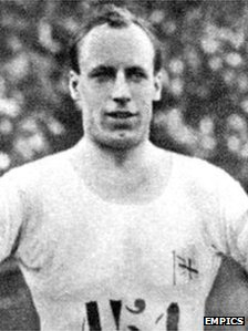 Scottish Olympian Eric Liddell