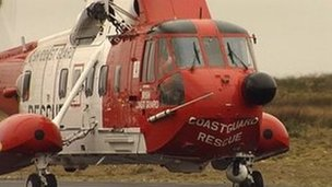 Irish Coastguard Rescue Helicopter