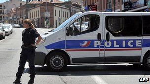 French police - file pic