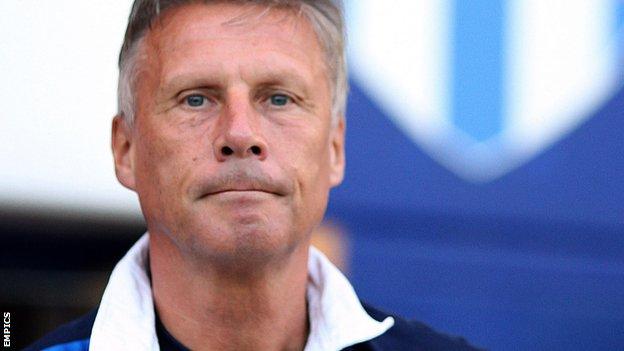 Colchester manager John Ward