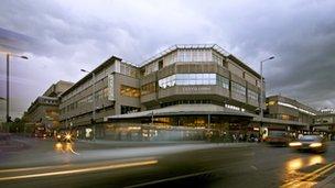 Victoria Centre in Nottingham