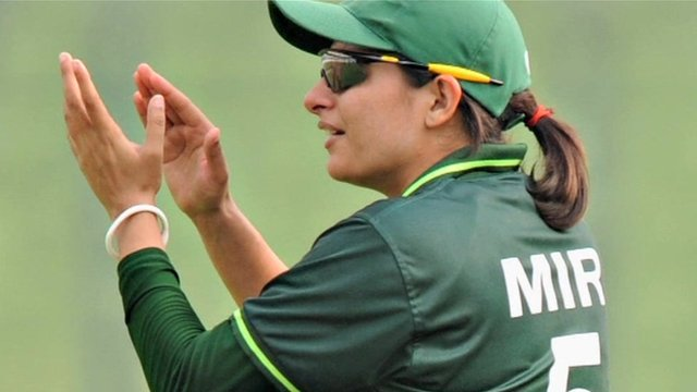 Sana Mir, Pakistan's women's team captain