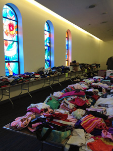 Stuff at the Anshe Emeth sale