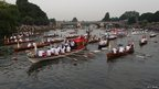 A flotilla of boats