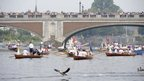 Rowboats on the Thames