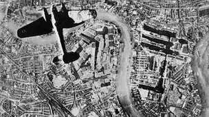 Heinkel over London