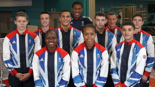 GB Boxing Olympic squad