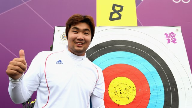 South Korea&#039;s Im Dong-hyun celebrates world record