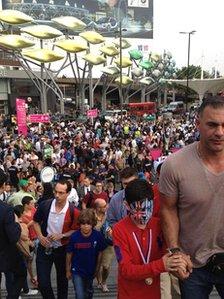 Stratford crowds