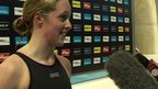 GB swimming star Hannah Miley opens up to School Reporters from Aberdeen