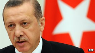 Turkish Prime Minister Recep Tayyip Erdogan