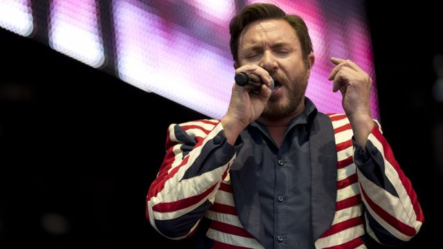 Simon Le Bon of Duran Duran