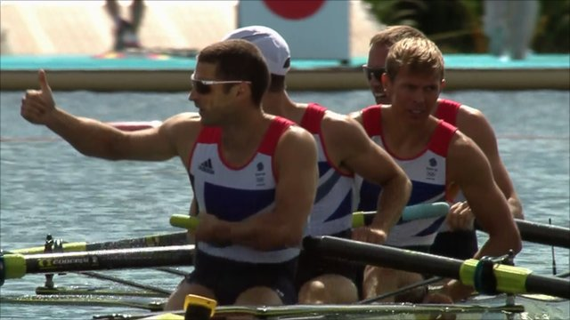 Great Britain&#039;s men&#039;s lightweight four