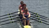 Great Britain's men's quadruple sculls quartet