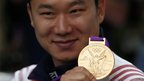 South Korea's Jin Jong-Oh won the men's ten-metre air pistol.