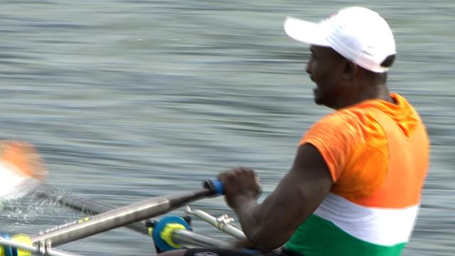 Niger rower Hammadou Djibo Issaka