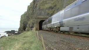 Tunnel on Derry to Coleraine line