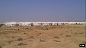 Refugee camp at Zaatari (29 July)