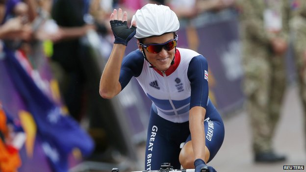 Lizzie Armitstead wins first medal for team GB.