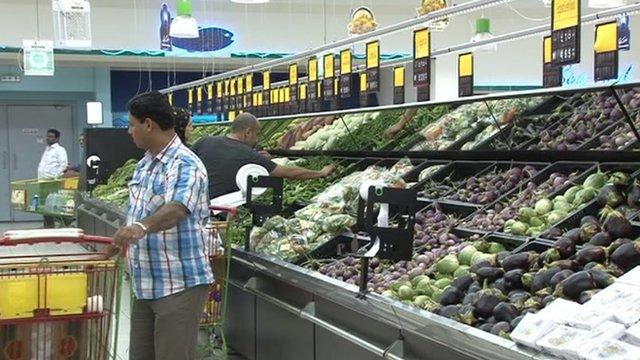 Supermarket in UAE