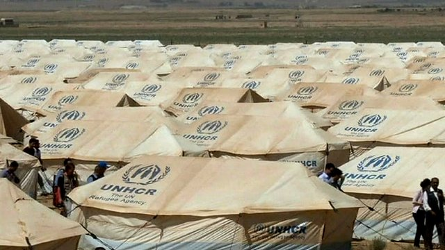 Jordan&#039;s camp for Syrian refugees