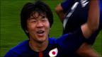 Kensuke Nagai scores for Japan