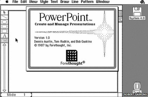 PowerPoint 1.0 screenshot