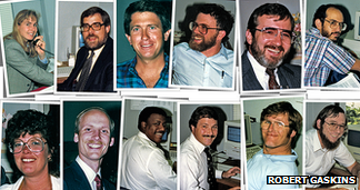 PowerPoint team members in 1987 and later