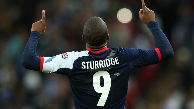 Great Britain&#039;s Daniel Sturridge
