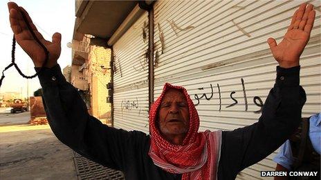 Mohammed Khalaf in Aleppo