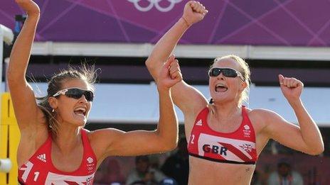Zara Dampney (left) and Shauna Mullin