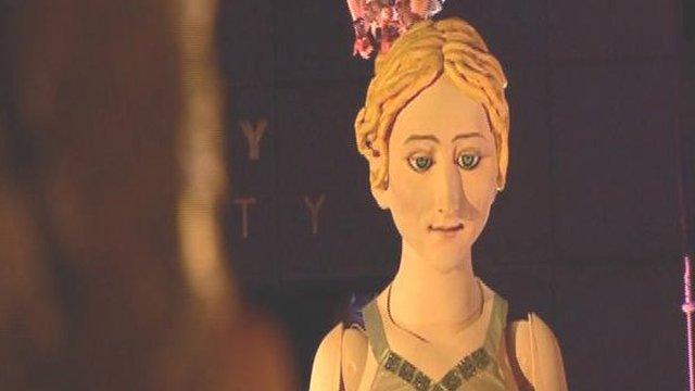 Lady Godiva puppet