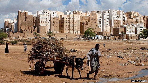 Yemeni town of Shibam